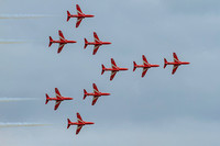 The RAF Red Arrows