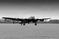 "Lancaster Bomber NX611 ""Just Jane"" Engine Run & Night Shoot - April 2016"