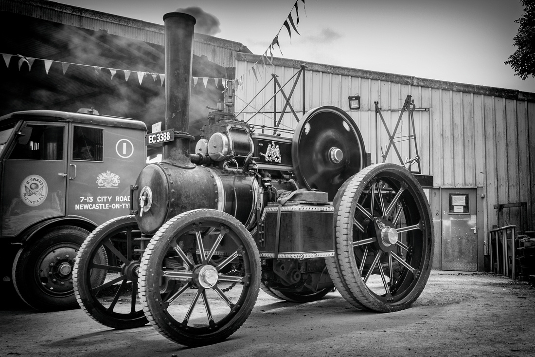 Steam Tractor Engine